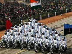 गणतंत्र दिवस समारोह में दिखी भारतीय सेना की ताकत, देखें तस्वीरें