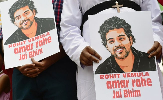 Rohit Vemula's Mother Accepts 8 Lakh Compensation From University Of Hyderabad