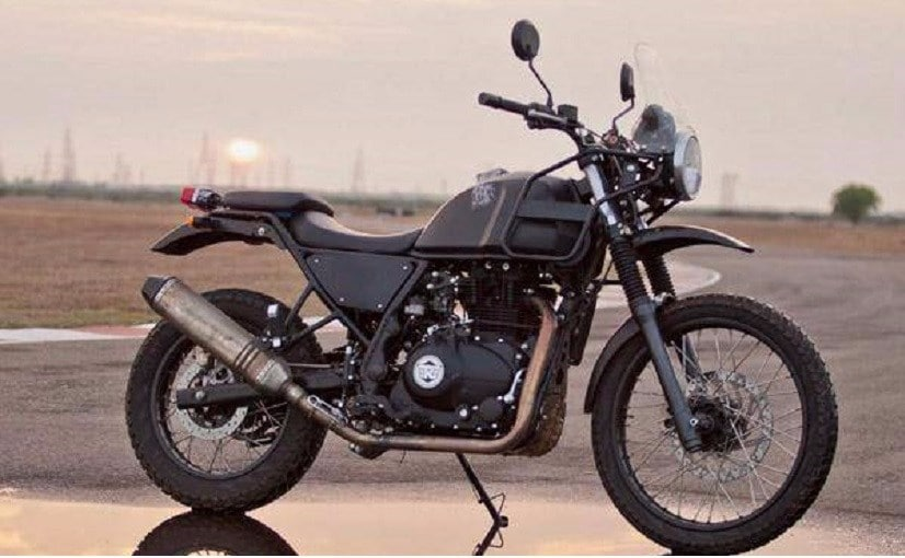 royal enfield himalayan officially teased ndtv carandbike. Black Bedroom Furniture Sets. Home Design Ideas