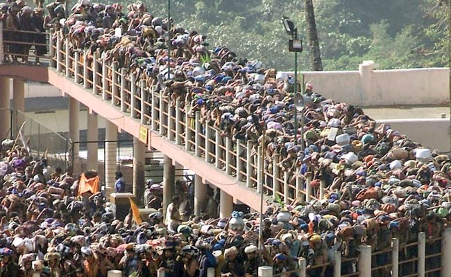 Woman held for trying to enter Sabarimala