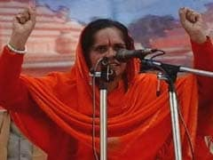 "Join Hinduism For ""Life In Heaven"": Sadhvi Prachi To Triple <i>Talaq</i> Victims"