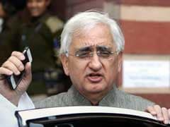 """Heavens Not Falling"": Salman Khurshid On Wait For Congress Election"