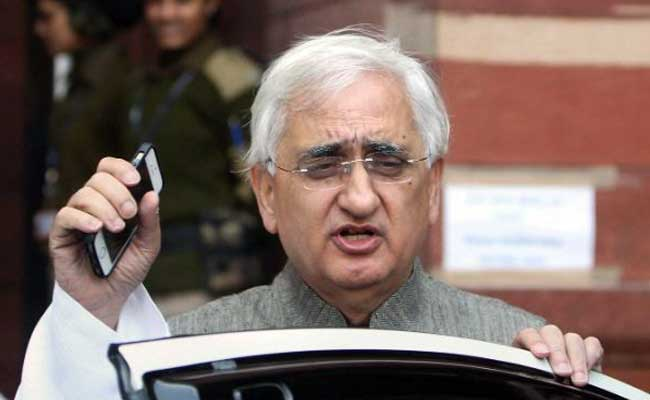 'Silly, Ungrateful' To Change Congress Leadership, Says Salman Khurshid
