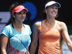 ऑस्ट्रेलियन ओपन : सानिया मिर्जा के लिए 'डबल' खुशी, जोकोविच, फेडरर सेमीफाइनल में