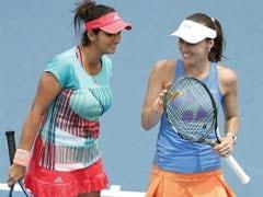 टेनिस : सानिया मिर्जा युगल रैंकिंग में अकेली शीर्ष पर