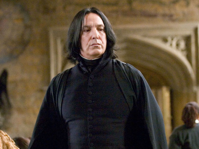 To Alan Rickman, With Love and Respect From Harry, Ron, Hermione