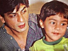Remember When Shah Rukh Khan's Teenage Son Aryan Was a Little Boy?