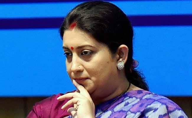 Don't Be Deterred By Failures: Smriti Irani Tells Students