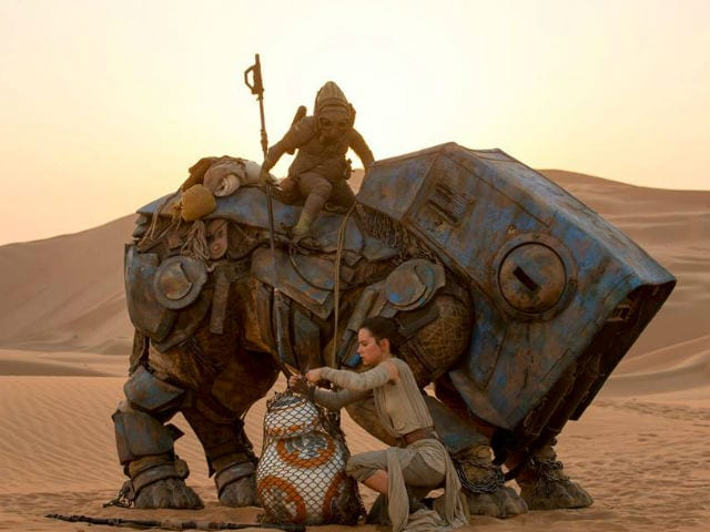 Star Wars: The Force Awakens Shatters North American Box Office Record