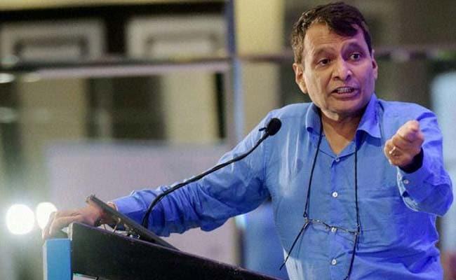 रेल मंत्री सुरेश प्रभु ने की इंदिरा गांधी की तारीफ, बताया 'सबसे शक्तिशाली प्रधानमंत्री'