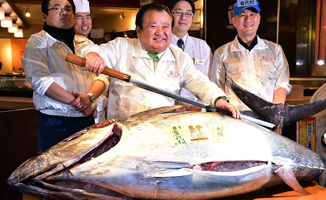 Japanese Sushi Chain Pays $117,000 For A Tuna. Yes, One Tuna.