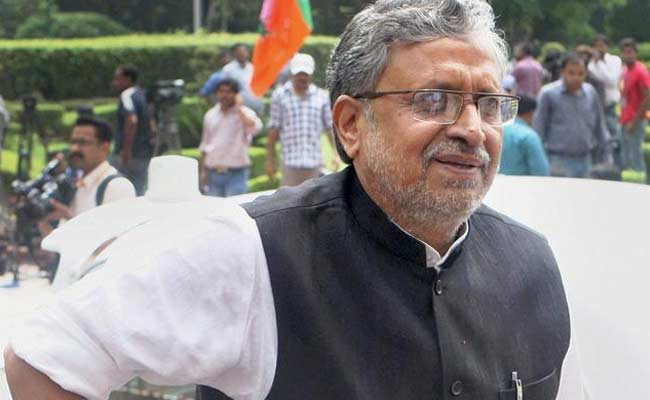 'Full Of Themselves': Sushil Modi's Veiled Attack On Upendra Kushwaha