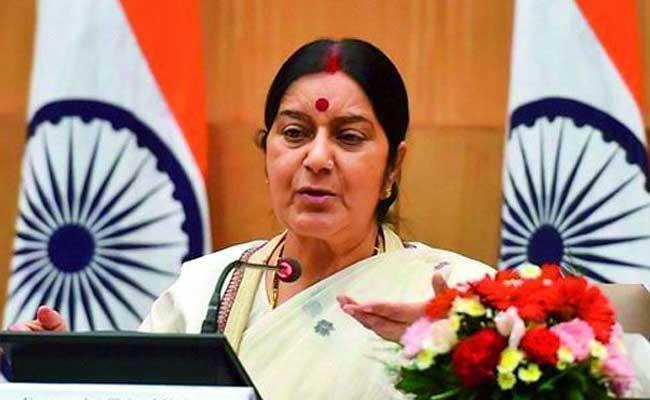 सीरिया में गिरफ्तार चार भारतीयों को रिहा कर दिया गया है : सुषमा स्वराज