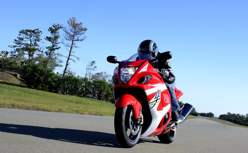 Is Suzuki Developing a 1,400cc Supercharged Hayabusa?