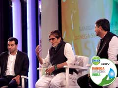 Over 1 Crore Hours Pledged At Cleanathon With Amitabh Bachchan