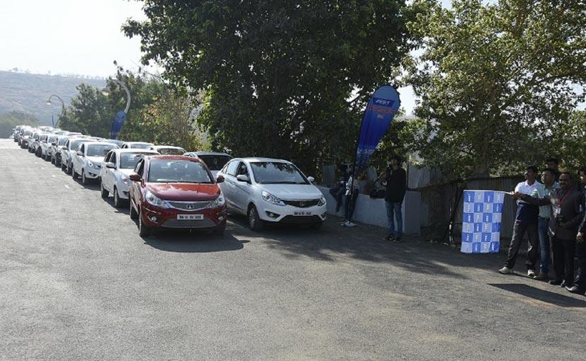 Tata Organizes Record Breaking Rally With Zest Owners