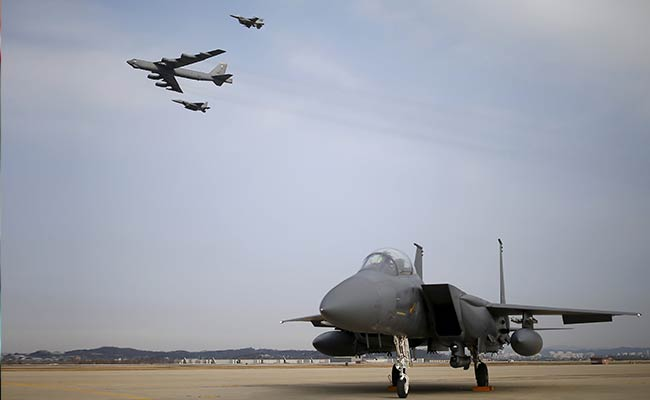 US Flies B-52 Over South Korea After North Korea's Nuclear Test
