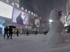 Traffic-Free Manhattan Transformed Into Winter Playground