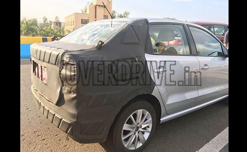 VW Ameo Rear