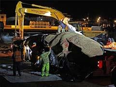 Nearly 40-Foot Whale Dead On Mumbai's Juhu Beach, Cranes Remove Body