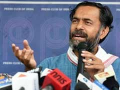 """Can't Silence Me"": Yogendra Yadav After Tax Raids At Sisters' Hospitals"