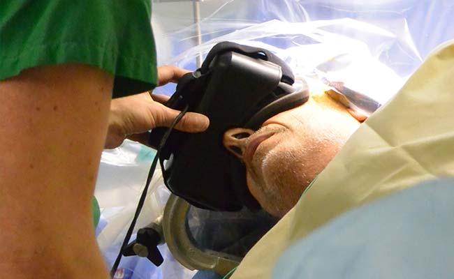 In A First, Patient Wears 3-D Glasses During Brain Surgery