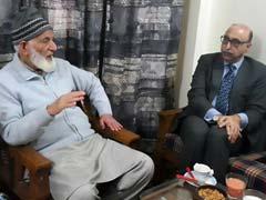 In Likely Tension-Booster, Pakistan Envoy Visits Kashmiri Separatist Geelani