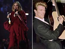 BRIT Awards: Award For Adele From Space, Lorde's Tribute to David Bowie