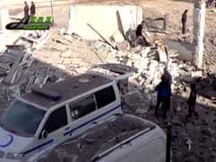 UN Alarmed At Attacks On Syria Hospitals, Schools; Nearly 50 Dead