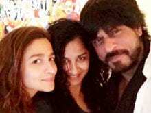 Shah Rukh Had 'Too Much Fun' Filming With Alia Bhatt. Here's Proof