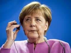 German Chancellor Angela Merkel Renews Call For Syria No-Fly Zone