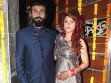 <I>Shaadi Mubaarak</i>: Aarya Babbar Marries Jasmine Puri