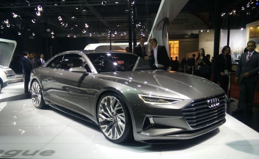 Auto Expo 2016 Audi Displays 39 Signature 39 Prologue Concept