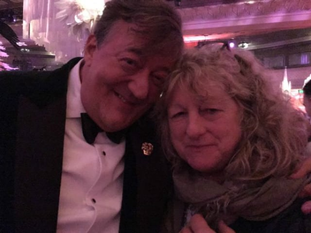BAFTA 2016: Stephen Fry Asks Twitter to Keep Calm. 'Bag Lady Got the Joke'