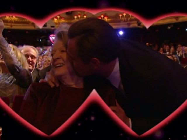 Leonardo DiCaprio and the BAFTA Kiss That Went Viral
