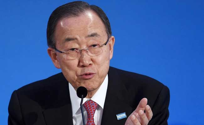 Ban Ki-Moon Urges European Countries To Keep Borders Open For Refugees