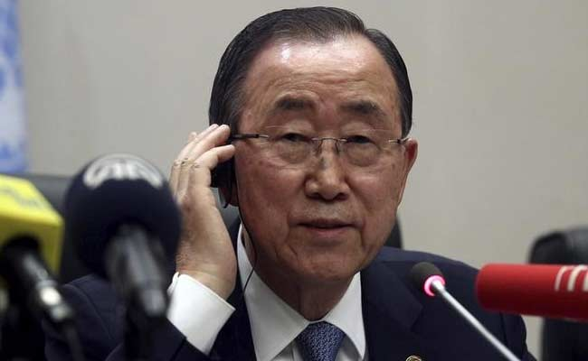 Russia Slams United Nations Chief Ban Ki-moon For Syria Comments