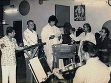 Amitabh Bachchan Posts Old Pics of Himself With R D Burman