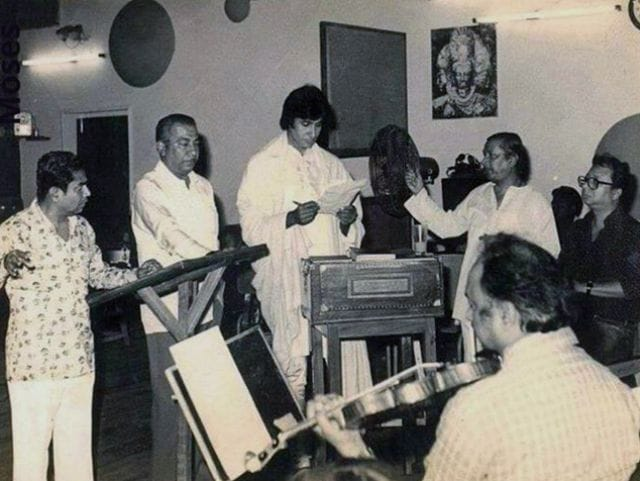 Amitabh Bachchan Posts Old Pics of Himself With R D Burman