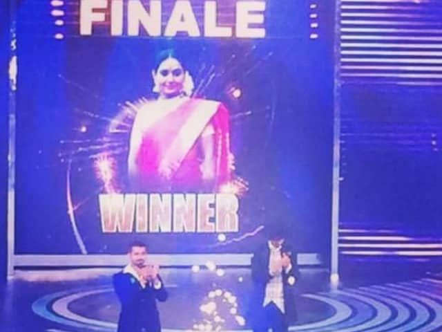 Actress Shruthi Wins Sudeep's Bigg Boss 3 Kannada
