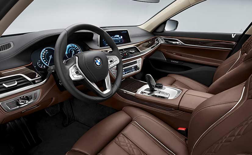 BMW 740e Plugin Hybrid Interior