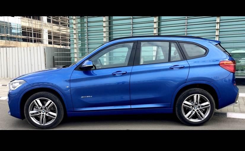 BMW X1 Side Profile