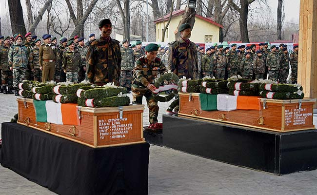 Jammu And Kashmir Encounter: Army Pays Tribute To Capt Tushar Mahajan