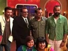 Dharmendra, Sunny, Bobby: The Deols Rock the Show at <I>Comedy Nights Live</i>
