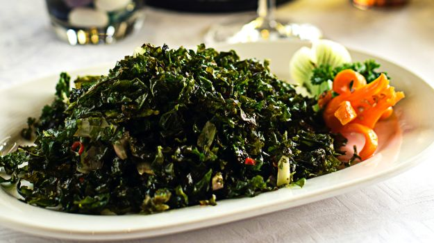 crsipy spinach recipe