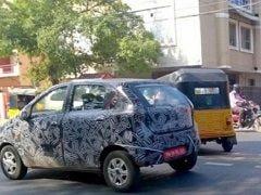 रोड टेस्ट के दौरान स्पाई कैमरे में कैद हुई Datsun Redi-GO