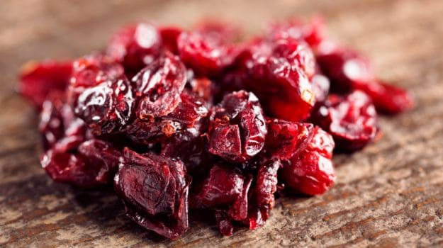 dried cranberries 625