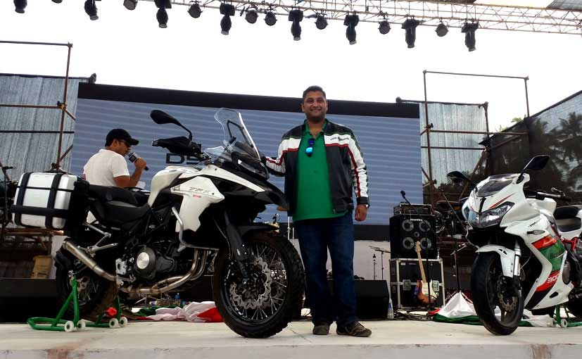India Bike Week 2016: DSK Benelli Showcases 4 New Motorcycles