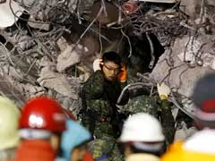 Taiwan Rescuers Pull Out Survivors From Earthquake Rubble