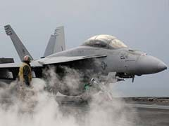 Boeing CEO Pitches Super Hornet Fighter Jet To India